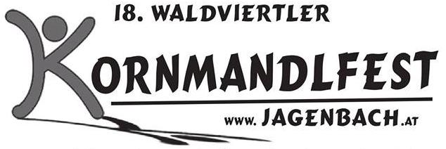 Plakat Kornmandlfest 2016 Logo